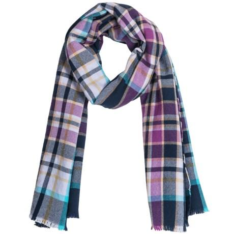 Johnstons of Elgin Extrafine Merino Wool Scarf (For Men and Women)
