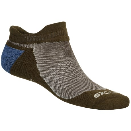 Brooks Infiniti Race Day Socks - Wool, Double Tab, Below-the-Ankle (For Men and Women)
