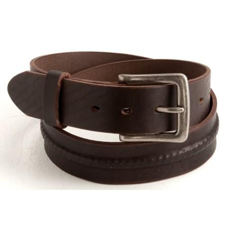 Woolrich Westside Belt - Leather (For Men)