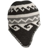 Grand Sierra Acrylic Jacquard Knit Hat - Fleece Lined (For Men)
