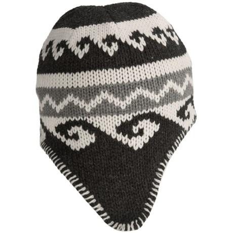 Grand Sierra Acrylic Jacquard Knit Hat - Fleece Lined (For Men)
