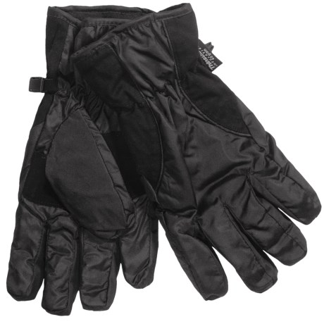 Grand Sierra Micropolyester Gloves - Waterproof, Insulated (For Men)
