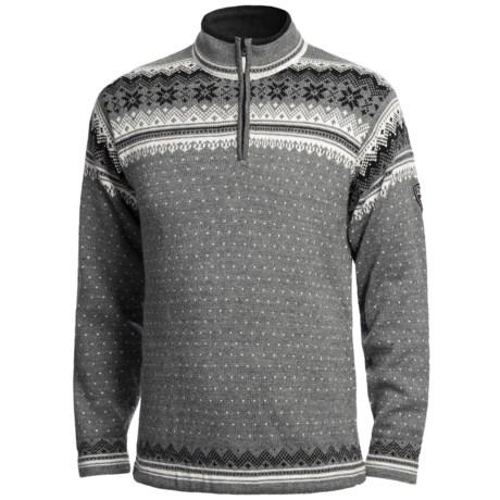 Dale of Norway Sverdrup Wool Sweater - Zip Neck (For Men)
