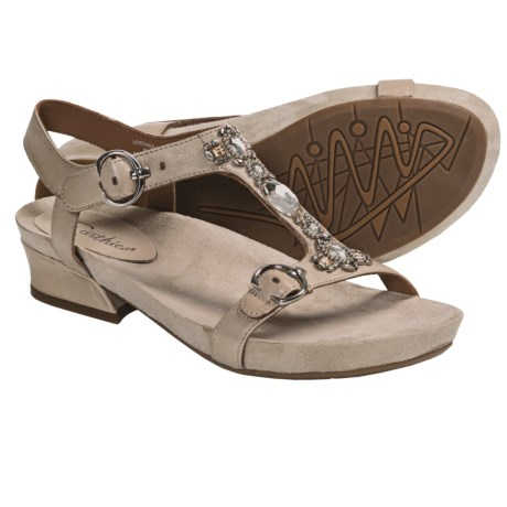 Earthies Santini Sandals - Leather (For Women)
