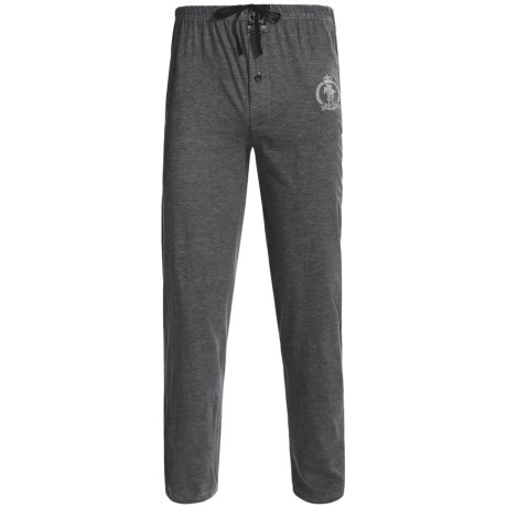National Outfitters Monte Carlo Polo & Jockey Club Lounge Pants - Cotton Jersey (For Men)