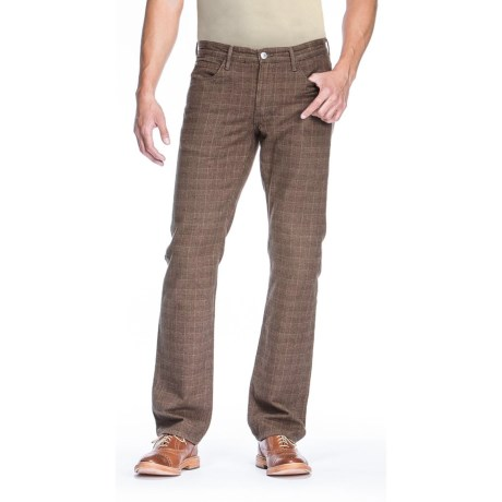Agave Denim Pragmatist Mad Plaid Pants - Classic Fit, Straight Leg (For Men)