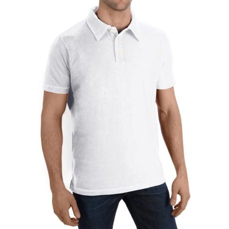 Agave Denim Tuna Polo Shirt - Supima® Cotton Jersey, Short Sleeve (For Men)