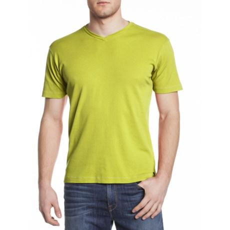 Agave Denim Bobcat Shirt - V-Neck, Short Sleeve (For Men)