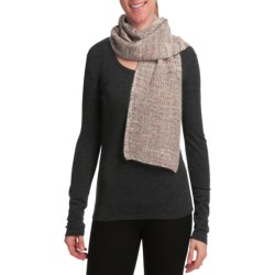 Auclair Boucle Scarf - Lambswool-Angora (For Women)