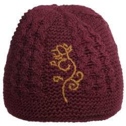 Fu-R Headwear Amelia Knit Beanie Hat - Wool, Fleece Lining (For Women)