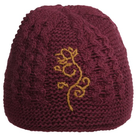 Fu-R Headwear Amelia Knit Beanie Hat - Wool, Fleece Lining (For Women)