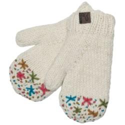 Turtle Fur Nepal Isha Mittens - Wool, Fleece Lining (For Women)
