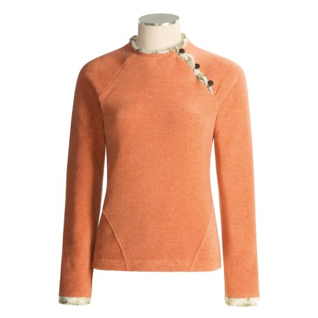 Wooly Bully Slopeside Fleece Pullover  (For Women)
