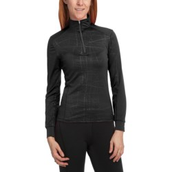 Hot Chillys Micro-Elite Fracture Base Layer Top - Midweight, Zip Neck, Long Sleeve (For Women)