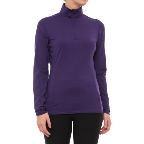 Hot Chillys Micro-Elite Base Layer Top - Heavyweight, Zip Neck, Long Sleeve (For Women)