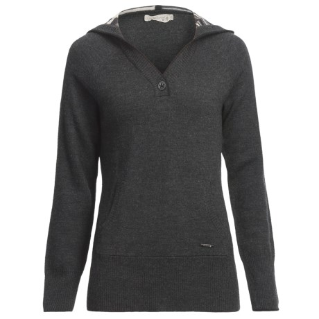 SmartWool Split Stripe Hoodie Sweatshirt - Merino Wool (For Women)