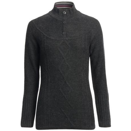 SmartWool Owl Creek Sweater - Merino Wool, Mock Neck (For Women)