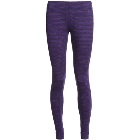 SmartWool NTS Pattern Base Layer Bottoms - Midweight, Merino Wool (For Women)