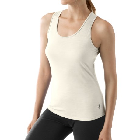 SmartWool NTS Microweight Tank Top - Merino Wool (For Women)