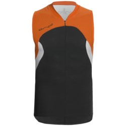 Orca Core Tri Tank Top - Zip Neck (For Men)