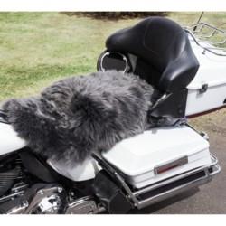 Auskin Longwool Sheepskin Motorcycle Seat Cover