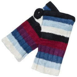 ExOfficio Irresistible Neska Fingerless 6 Stripe Mittens (For Women)