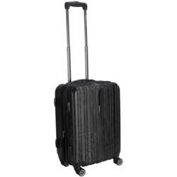 """Traveler's Choice Tasmania Spinner Suitcase - Hardside, Expandable, 20"""""""