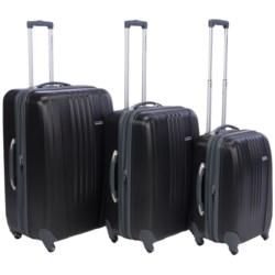 Traveler's Choice Toronto Spinner Luggage Set - Hardside, Expandable, 3-Piece