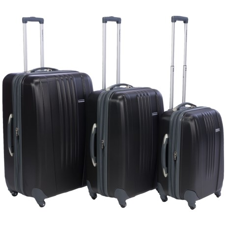 Traveler's Choice Toronto Spinner Luggage Set - Hardside, Expandable, 3-Piece