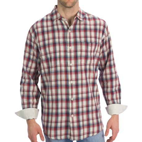 Horny Toad Mixologist Plaid Shirt - Long Sleeve (For Men)