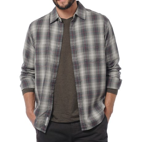 Horny Toad Mojo Flannel Shirt - Organic Cotton, Long Sleeve (For Men)