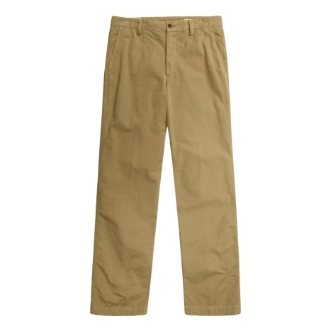 Mason's Italian Pants - Washed Poplin (For Men)
