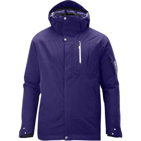 Salomon Zero II Jacket - Waterproof, Insulated (For Men)