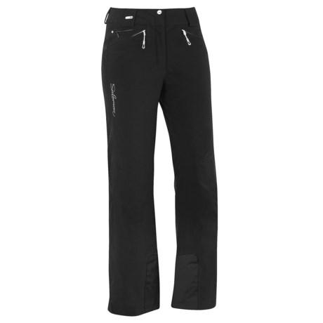Salomon Brilliant Ski Pants - Waterproof, Insulated (For Women)