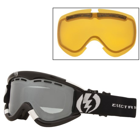 Electric EG1 Snowsport Goggles - Flash-Colored Lens