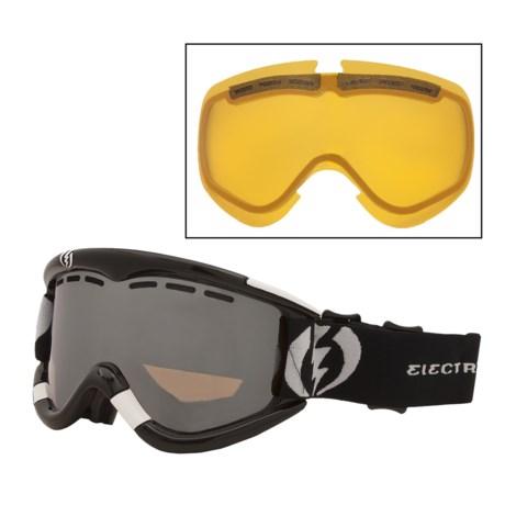 Electric EG1 Snowsport Goggles - Interchangeable Lens