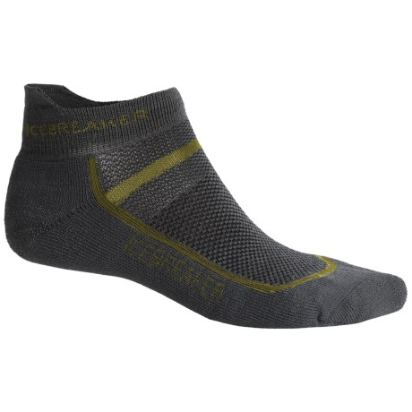 Icebreaker Multisport Cushion Socks - Merino Wool, Below-the-Ankle (For Men)