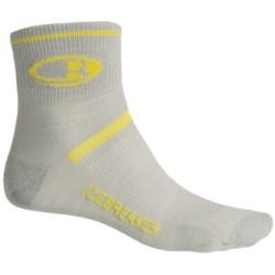 Icebreaker Multisport Ultralite Socks - Merino Wool, Quarter-Crew (For Men)