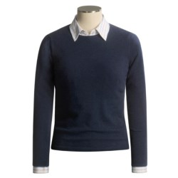 Forte Cashmere Kinross Basic Crew Sweater - Cashmere (For Women)