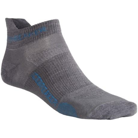 Icebreaker Run Ultralite Micro Socks - 2-Pack, Merino Wool (For Men)