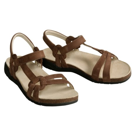 dressy walking sandals teva ventura cork sandals for