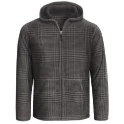 White Sierra Moraine Hoodie Sweatshirt - Chunky Fleece (For Men)