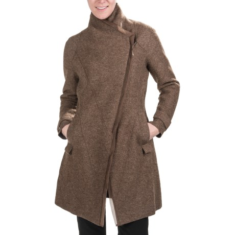 Stella Carakasi About Time Coat - Alpaca-Wool (For Women)