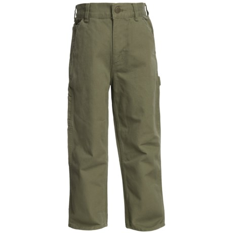 Carhartt Washed Duck Dungaree Pants (For Boys)