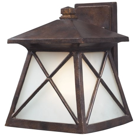 Elk Lighting Spencer 1-Light Outdoor Sconce - Wall Mount, Small