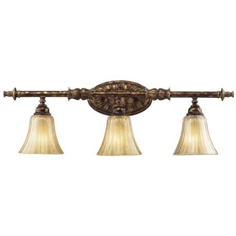 Bathroom Vanity Lights Reviews bathroom vanity lights - review of elk lighting bedminster 3-light