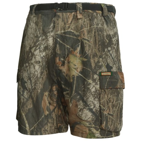 Remington Rem-Lite Camo 6-Pocket Shorts (For Men)