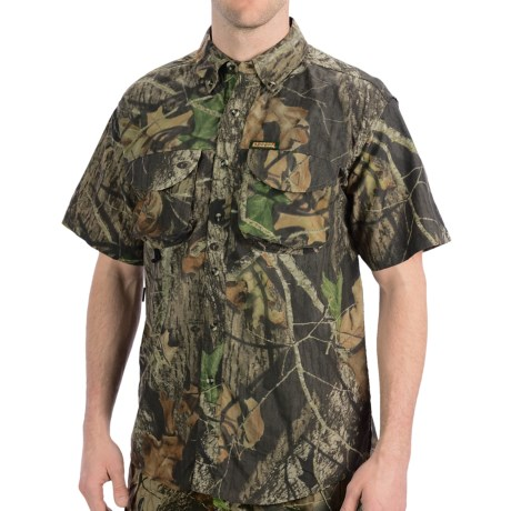 Remington Rem-Lite Camo Shirt - Short Sleeve (For Men)
