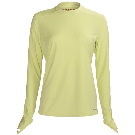 Simms Solarflex Crew Shirt - Long Sleeve (For Women)