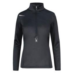 Spyder Bocca Stretch Fleece Shirt - Zip Neck, Long Sleeve (For Women)